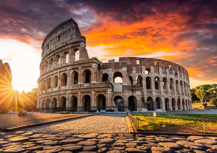Puzzle Magnolia Coliseo de Roma de 1000 Piezas