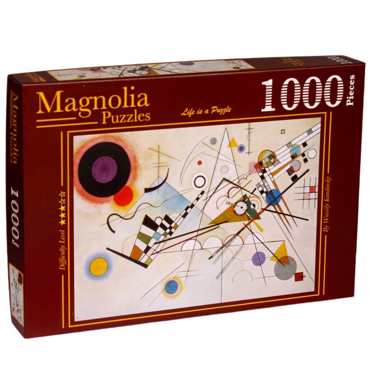 Puzzle Magnolia Composición 8 de 1000 Piezas
