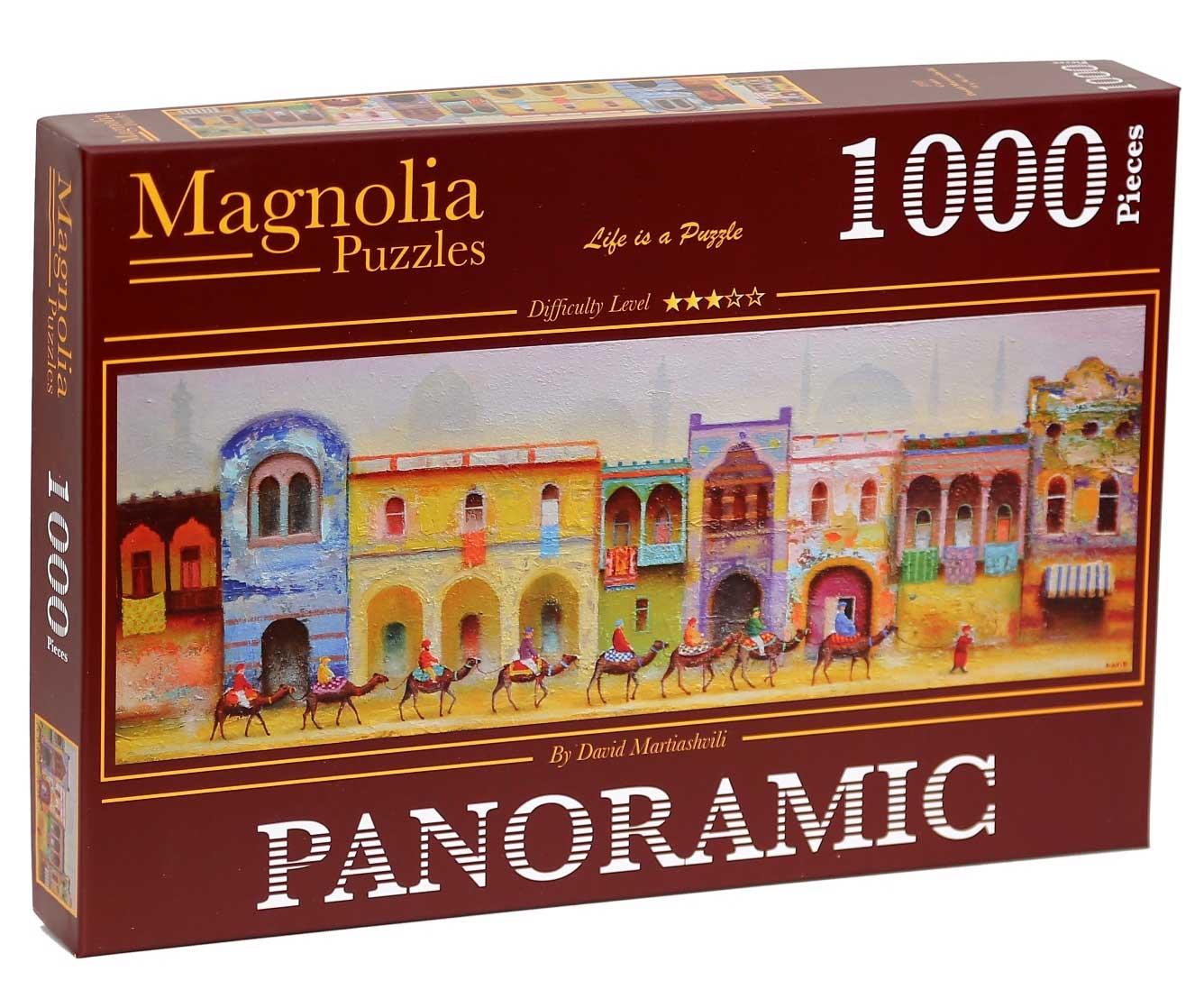 Puzzle Magnolia El Cairo Panorámico de 1000 Piezas