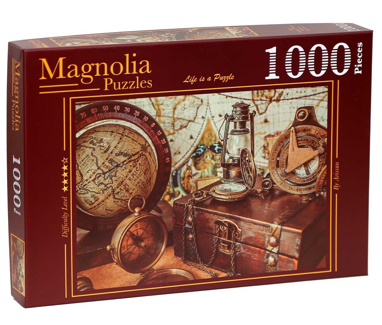 Puzzle Magnolia El Cofre del Marino de 1000 Piezas