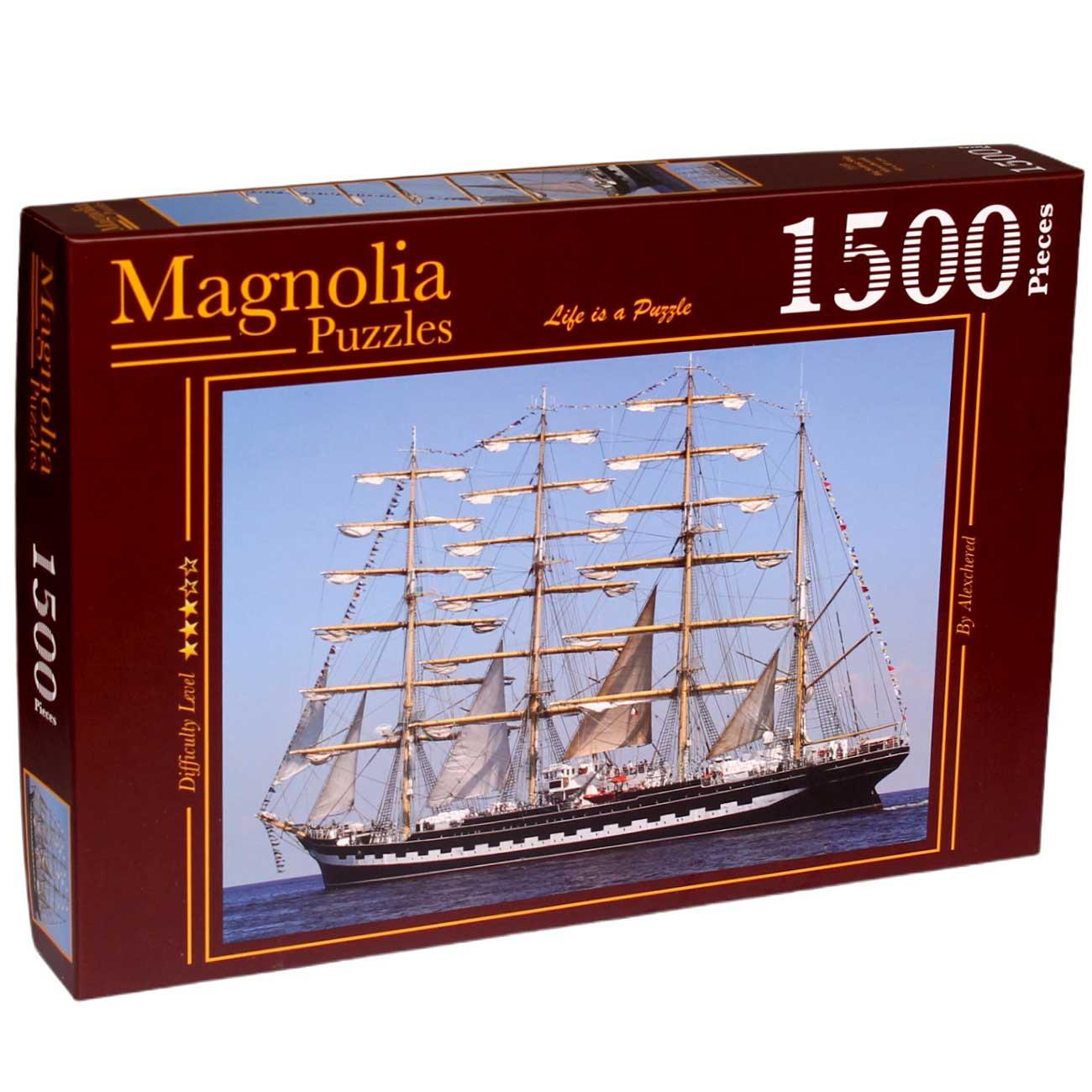 Puzzle Magnolia El Gran Velero de 1500 Piezas