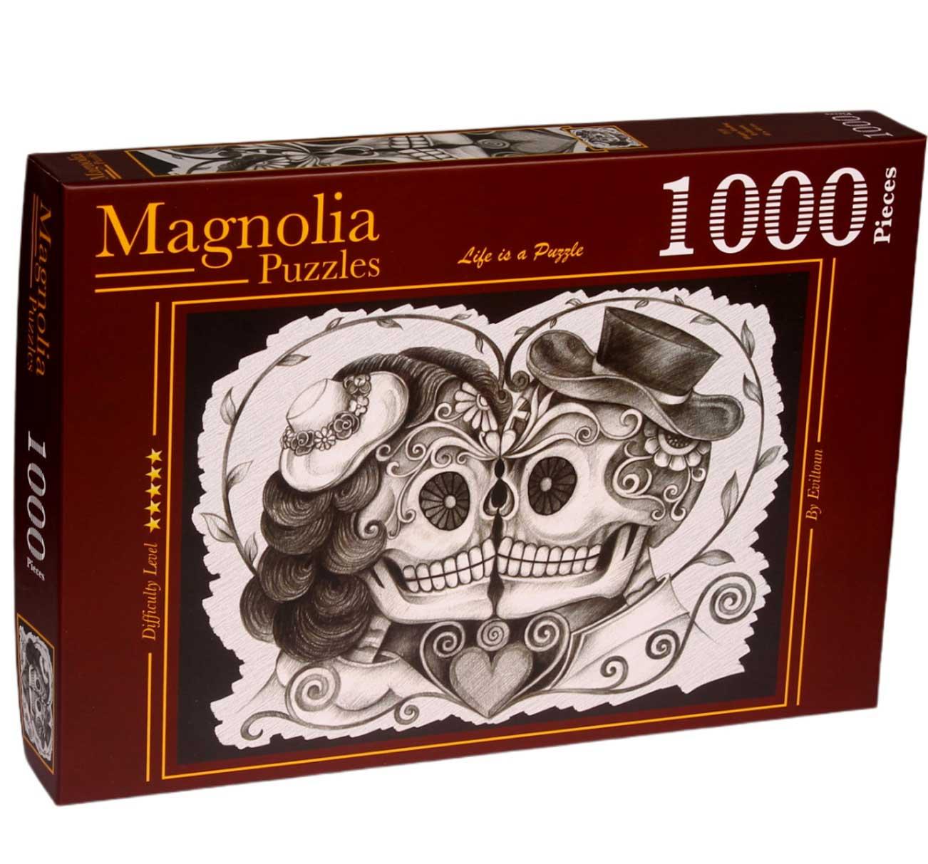 Puzzle Magnolia Final Feliz de 1000 Piezas