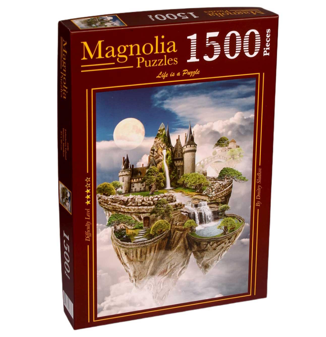Puzzle Magnolia Isla Fabulosa de 1500 Piezas