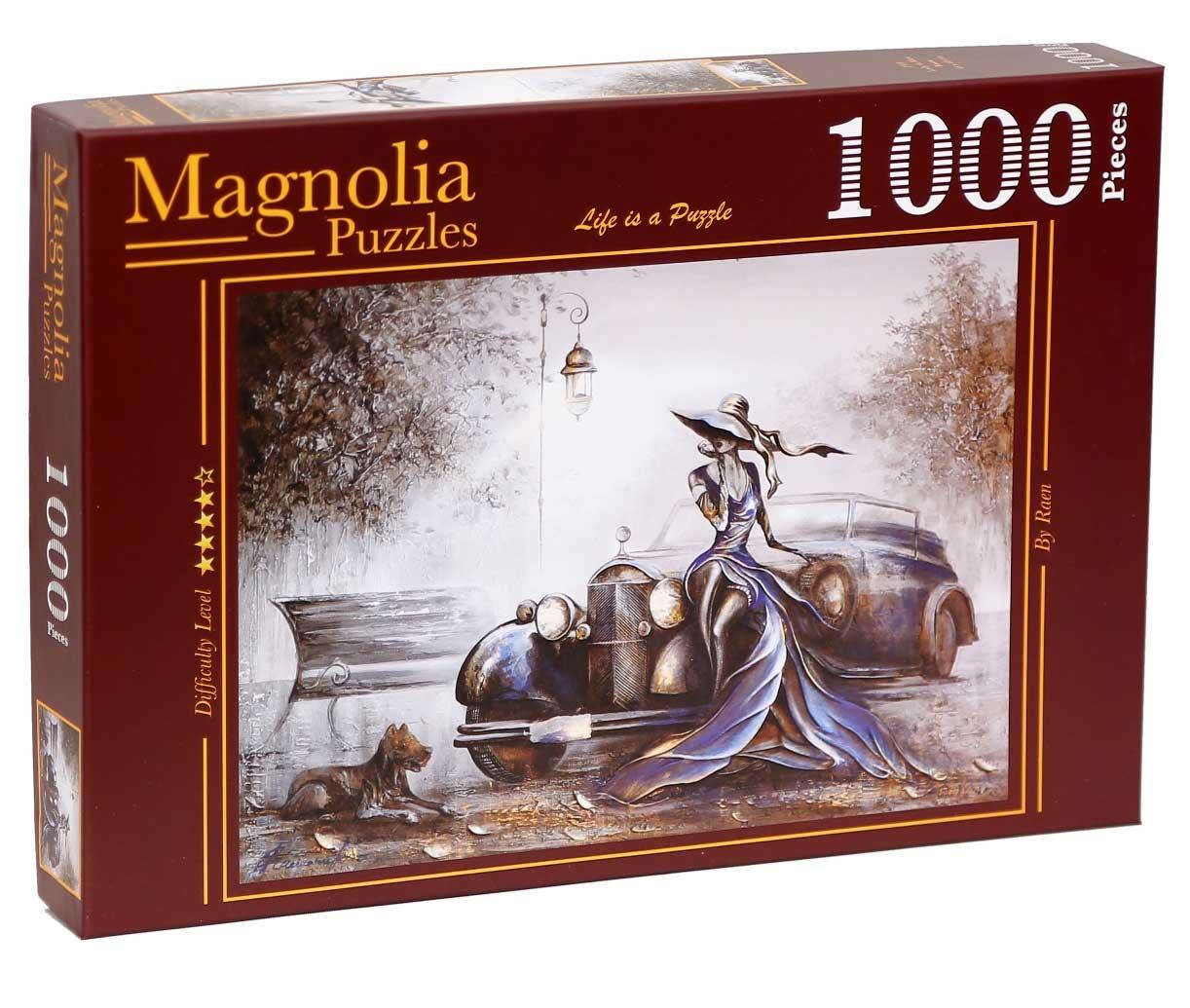 Puzzle Magnolia La Dama de Azul de 1000 Piezas