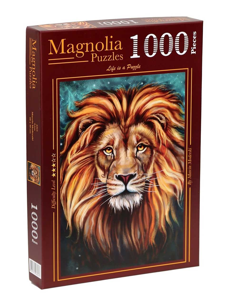 Puzzle Magnolia León de 1000 Piezas