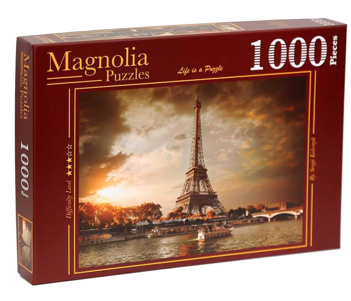 Puzzle Magnolia Nubes Sobre París de 1000 Piezas