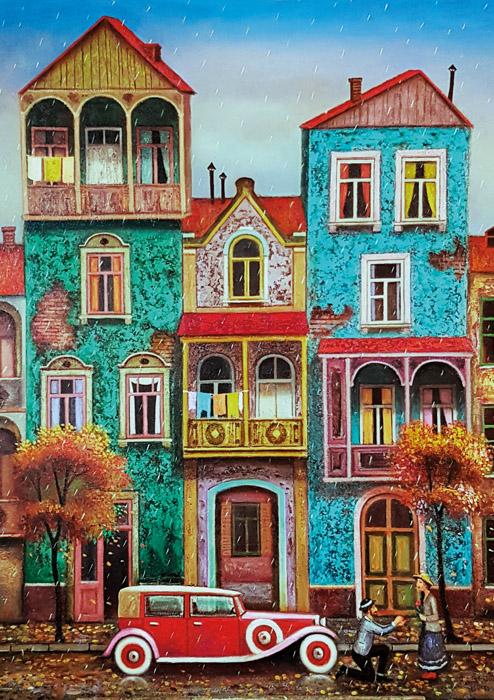 Puzzle Magnolia Old Tbilisi de 1000 Piezas
