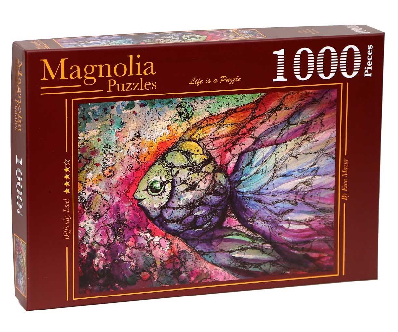 Puzzle Magnolia Peces de 1000 Piezas