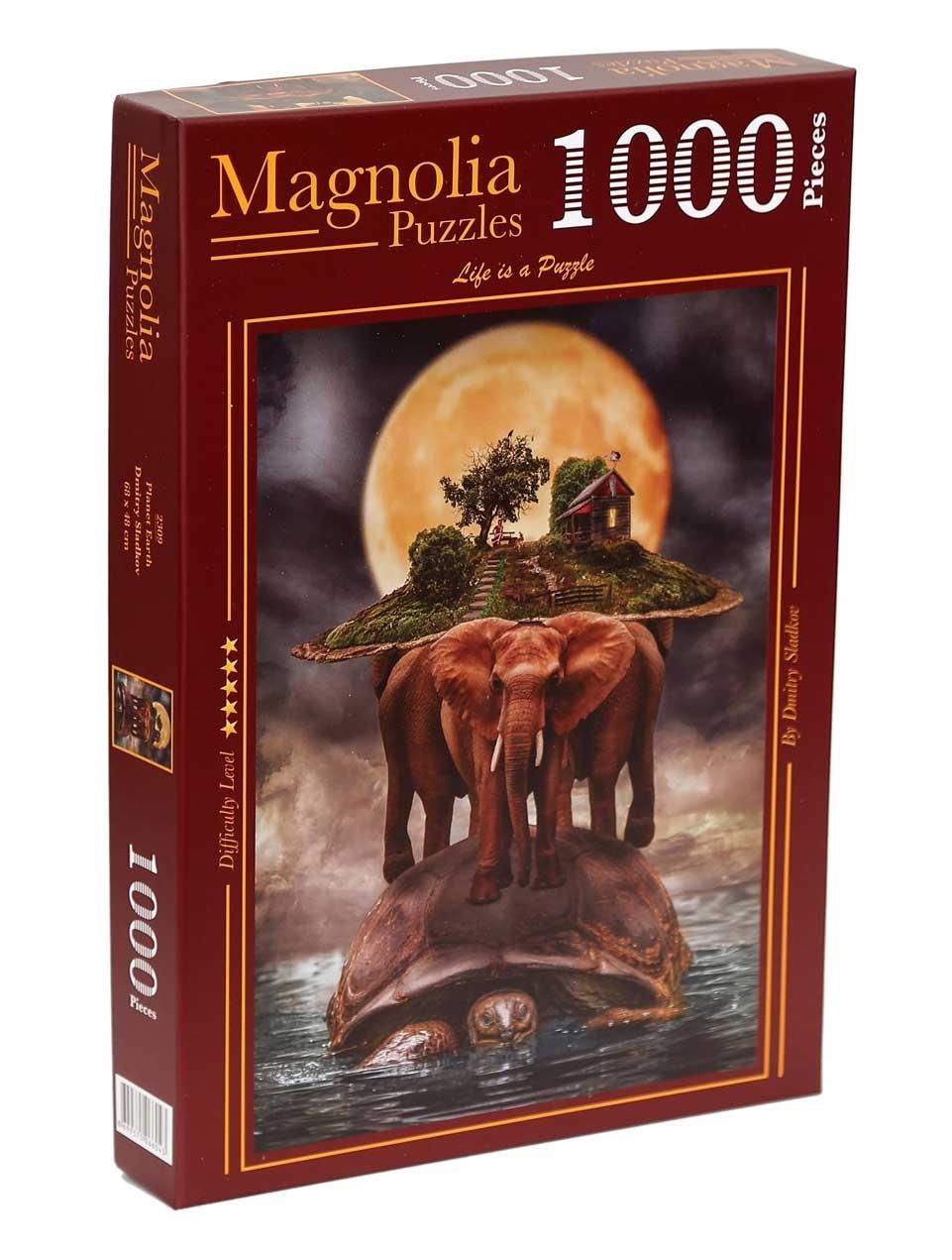 Puzzle Magnolia Planeta Tierra de 1000 Piezas