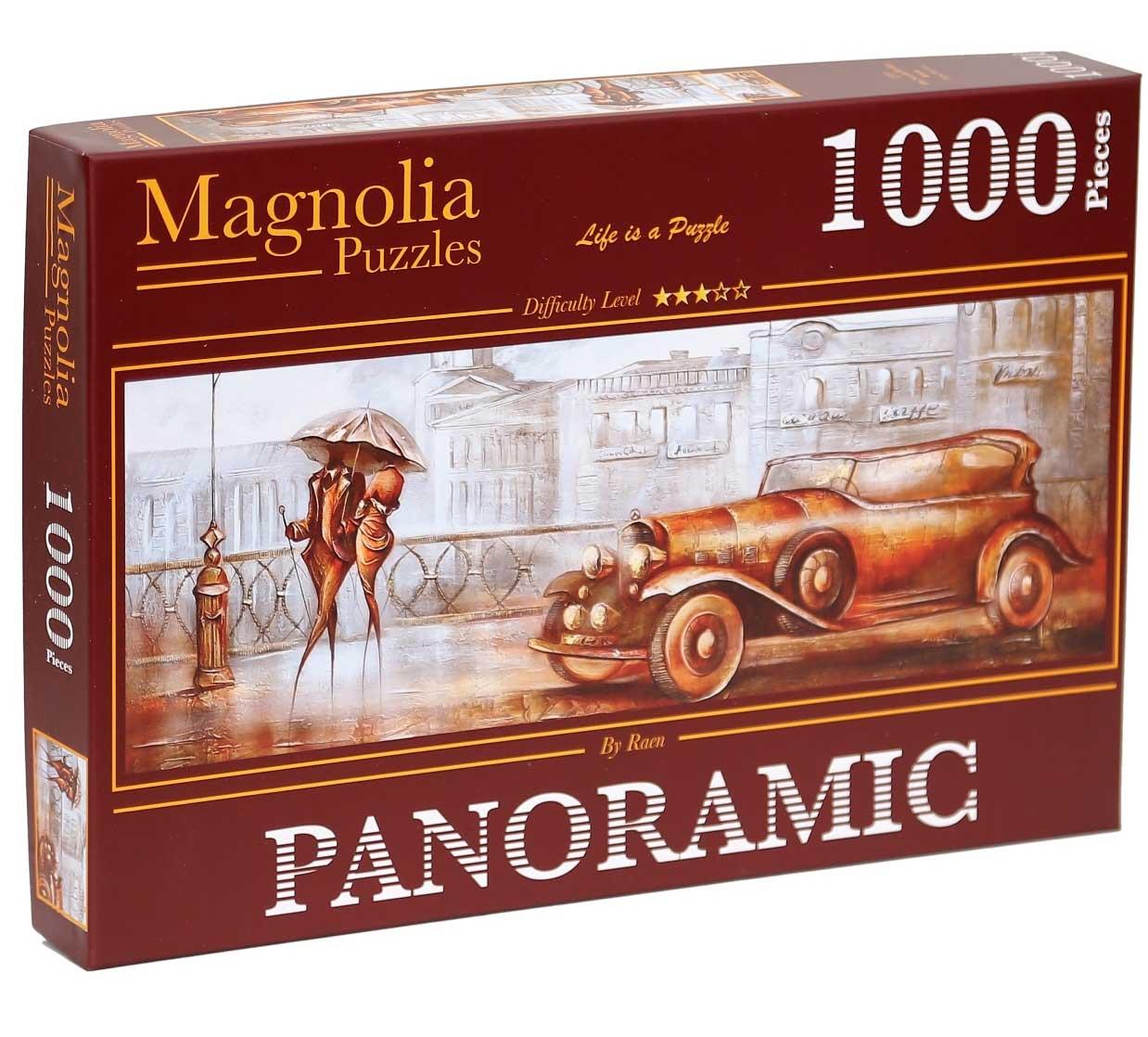 Puzzle Magnolia Puente Sur Panorámico de 1000 Piezas