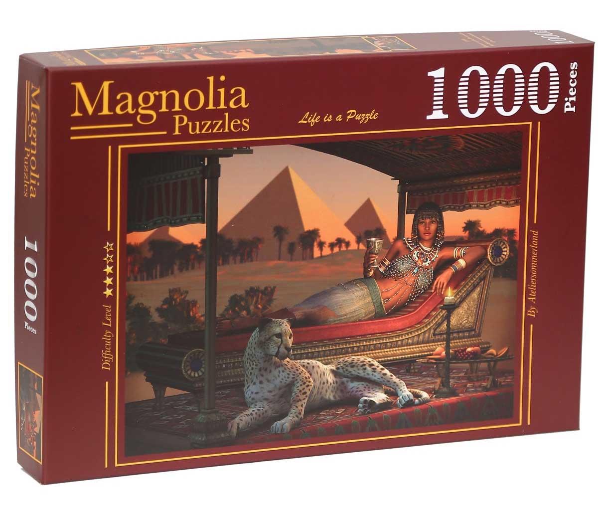 Puzzle Magnolia Reina de las Pirámides de 1000 Piezas