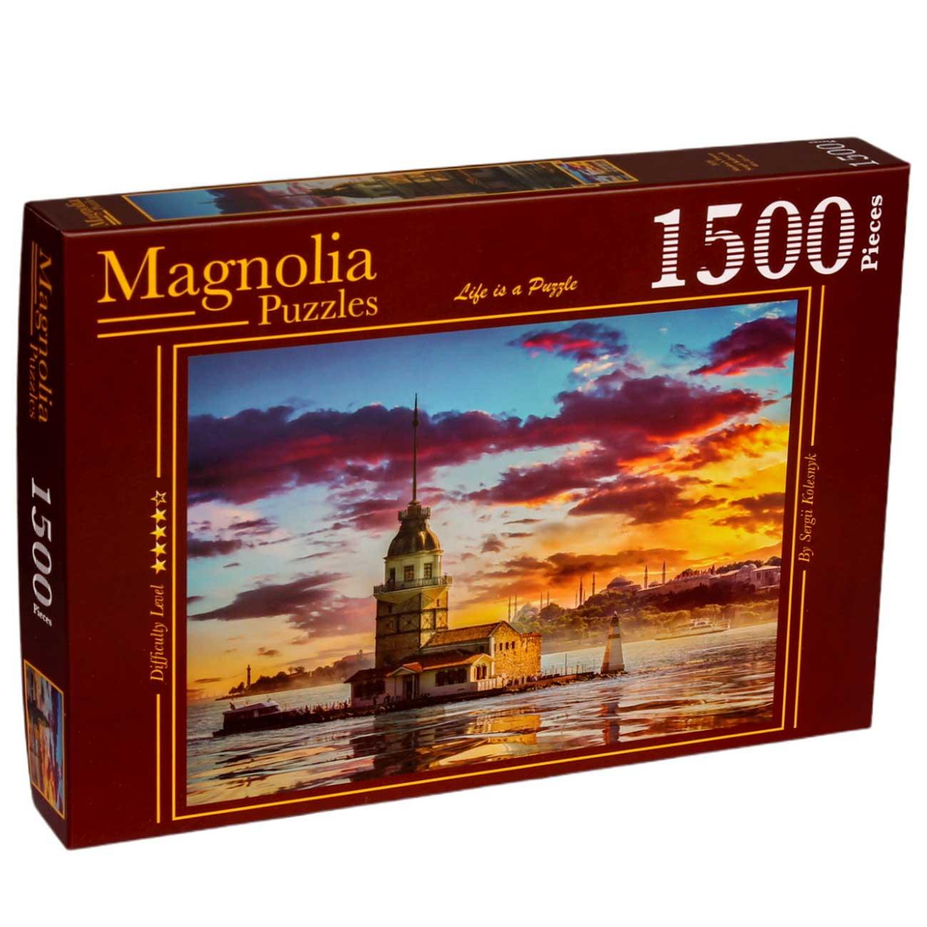 Puzzle Magnolia Torre de Maiden de 1500 Piezas
