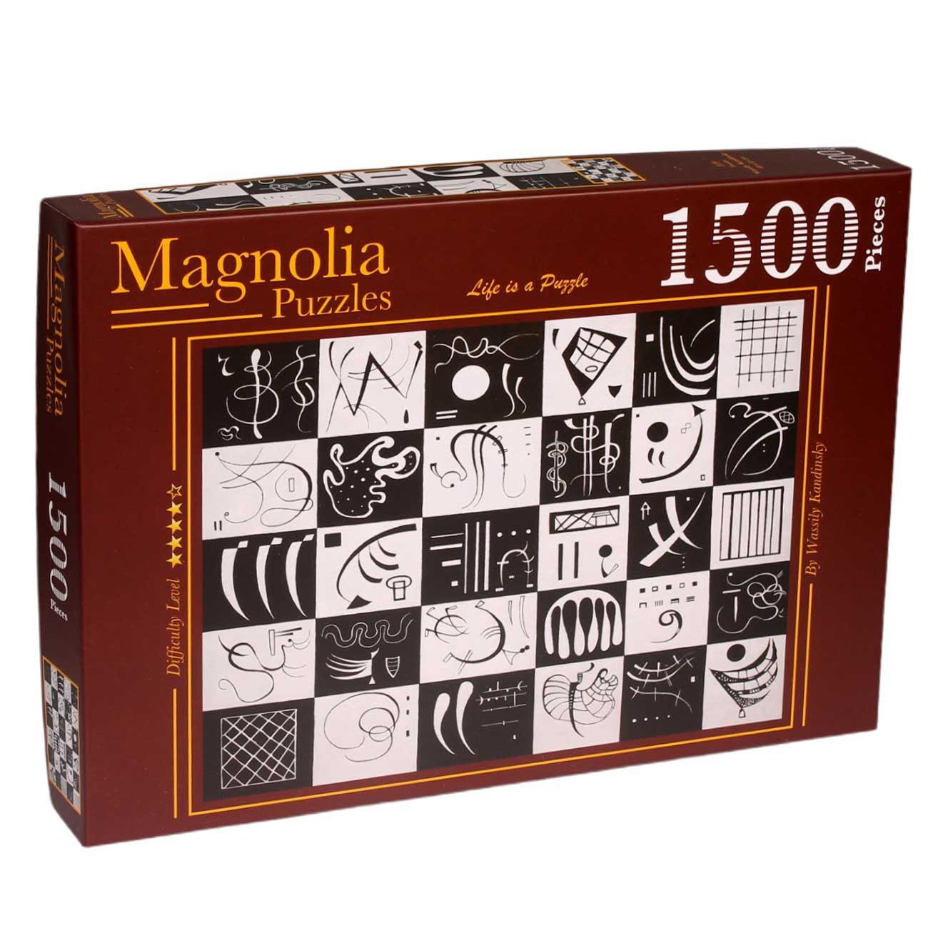Puzzle Magnolia Treinta de 1000 Piezas