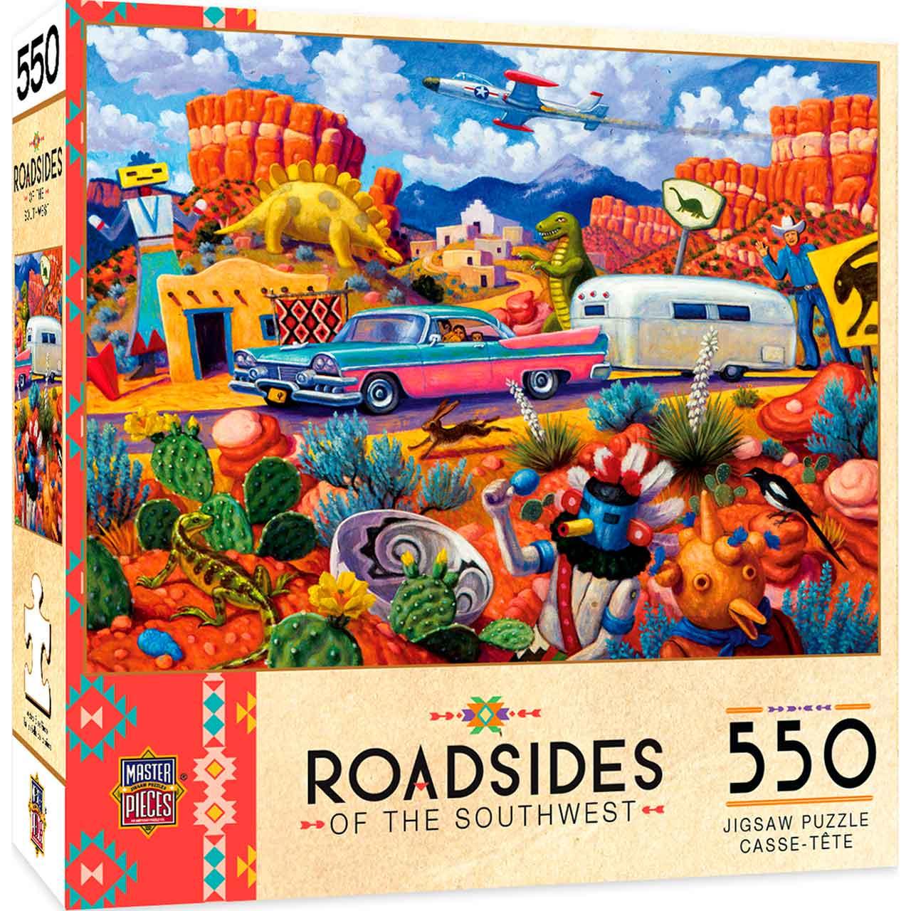 Puzzle MasterPieces Algo Fuera de lo Común de 550 Piezas