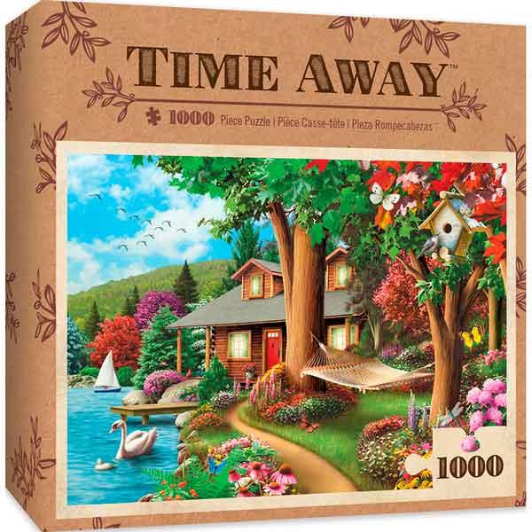 Puzzle MasterPieces Alrededor del Lago de 1000 Piezas