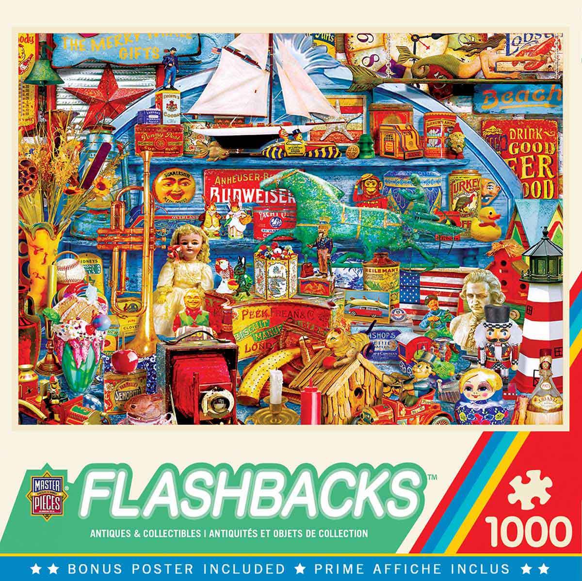 Puzzle MasterPieces Antigüedades y Coleccionables de 1000 Piezas