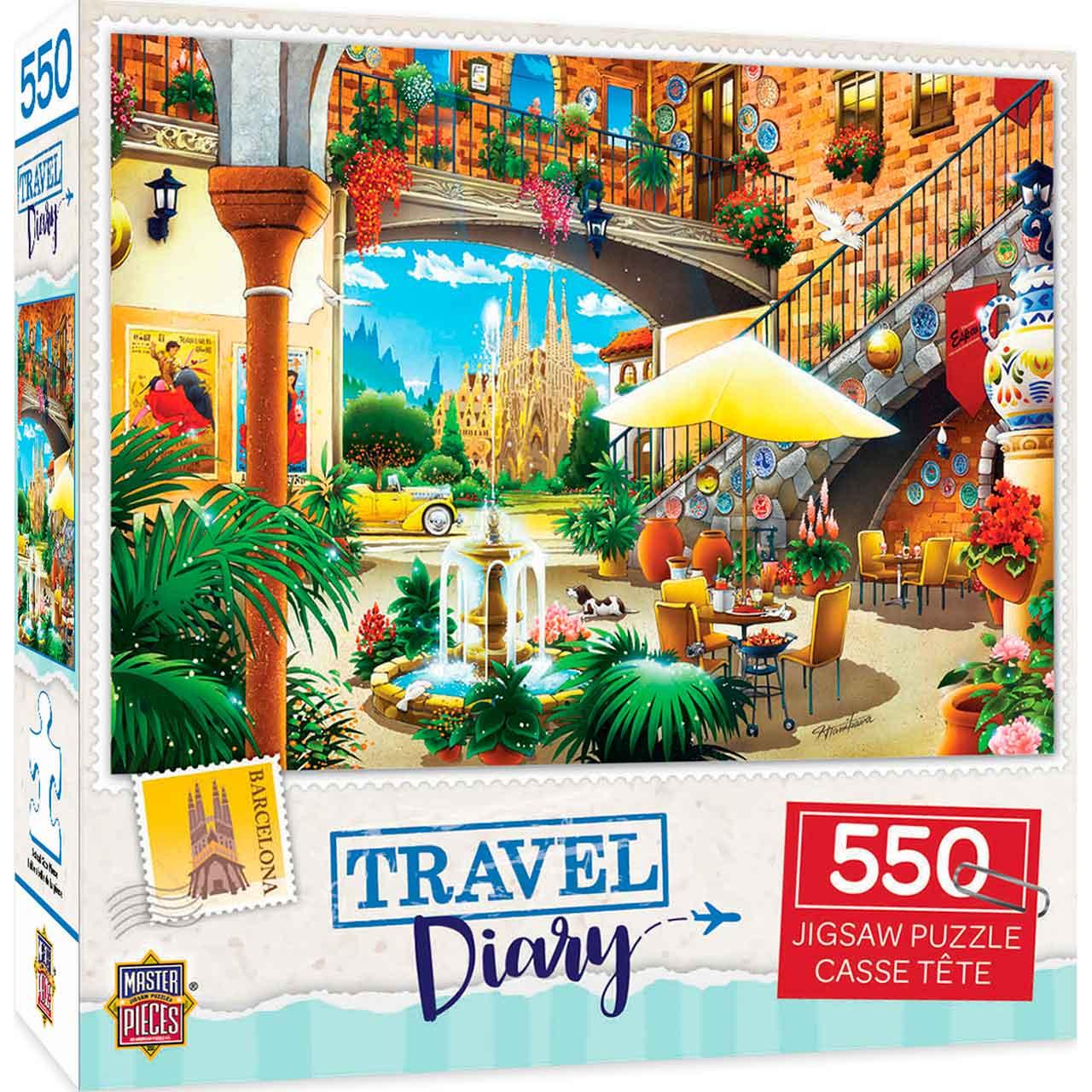 Puzzle MasterPieces Barcelona de 550 Piezas