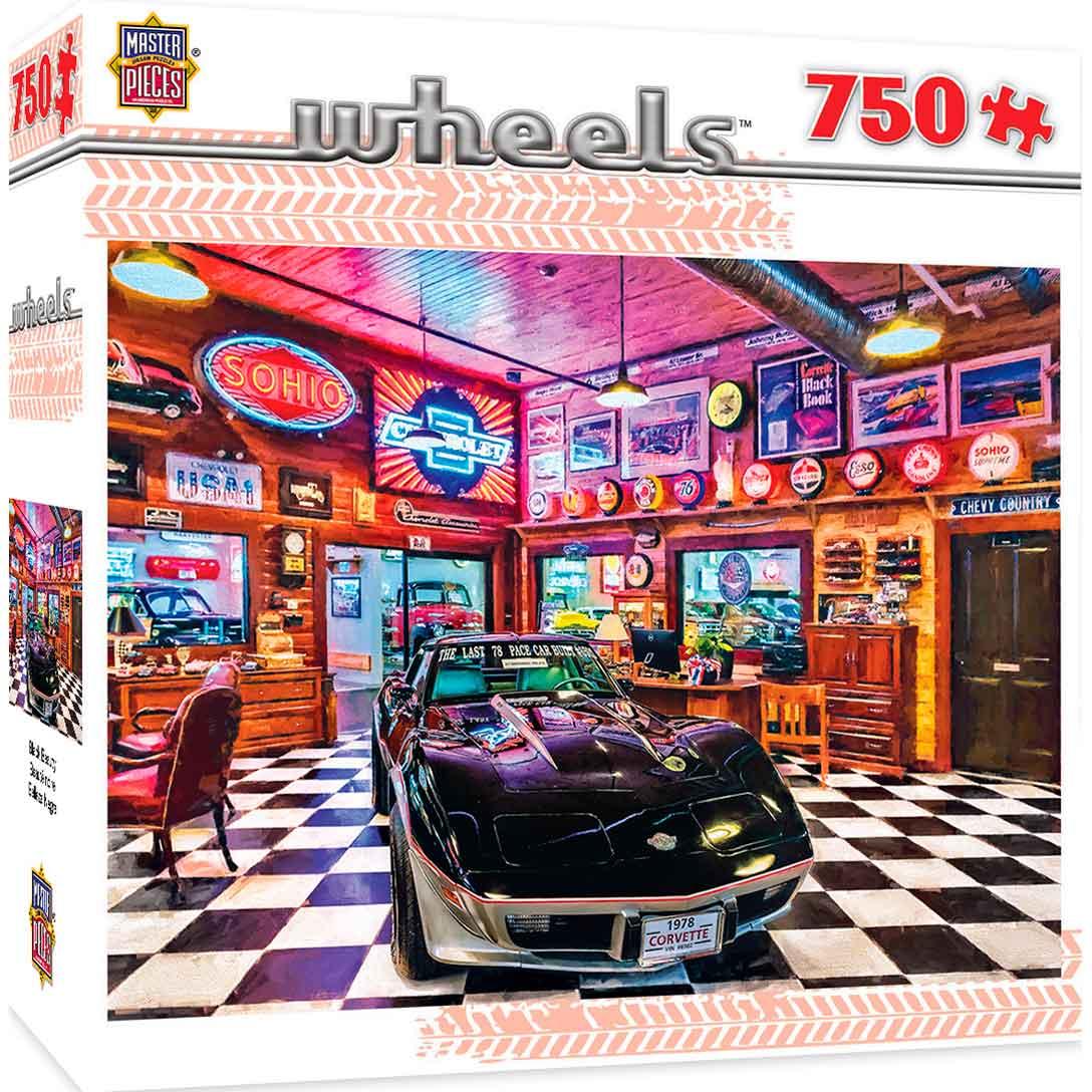 Puzzle MasterPieces Belleza Negra de 750 Piezas