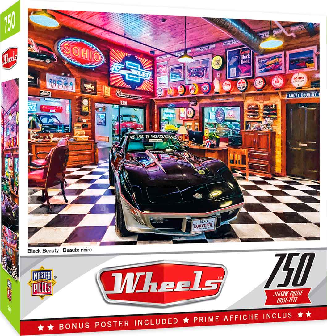 Puzzle MasterPieces Belleza Negra de 750 Pzs