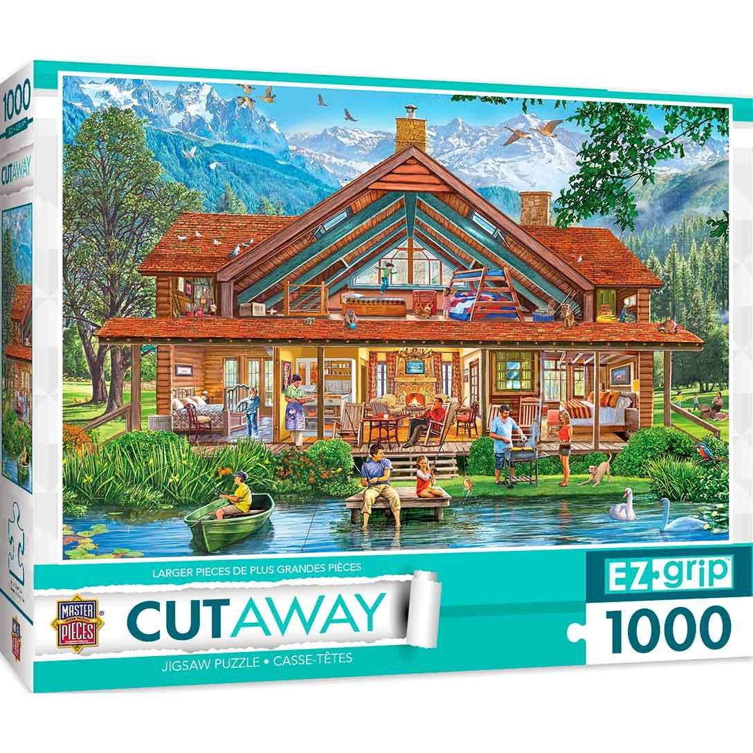 Puzzle MasterPieces Cabaña de Camping XXL de 1000 Piezas