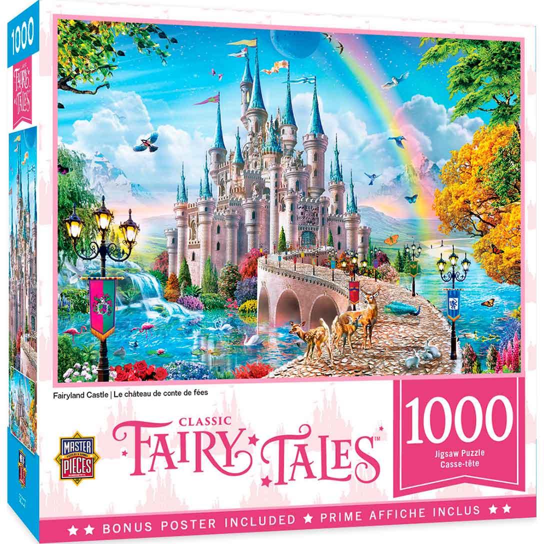 Puzzle MasterPieces Castillo de Cuento de Hadas de 1000 Piezas