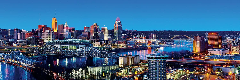 Puzzle MasterPieces Cincinnati, Ohio de 1000 Piezas