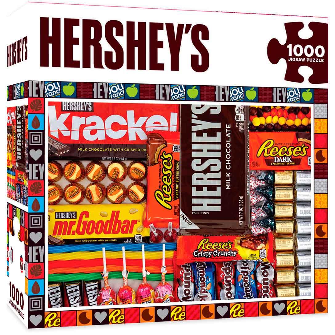 Puzzle MasterPieces Collage de Chocolates de 1000 Piezas