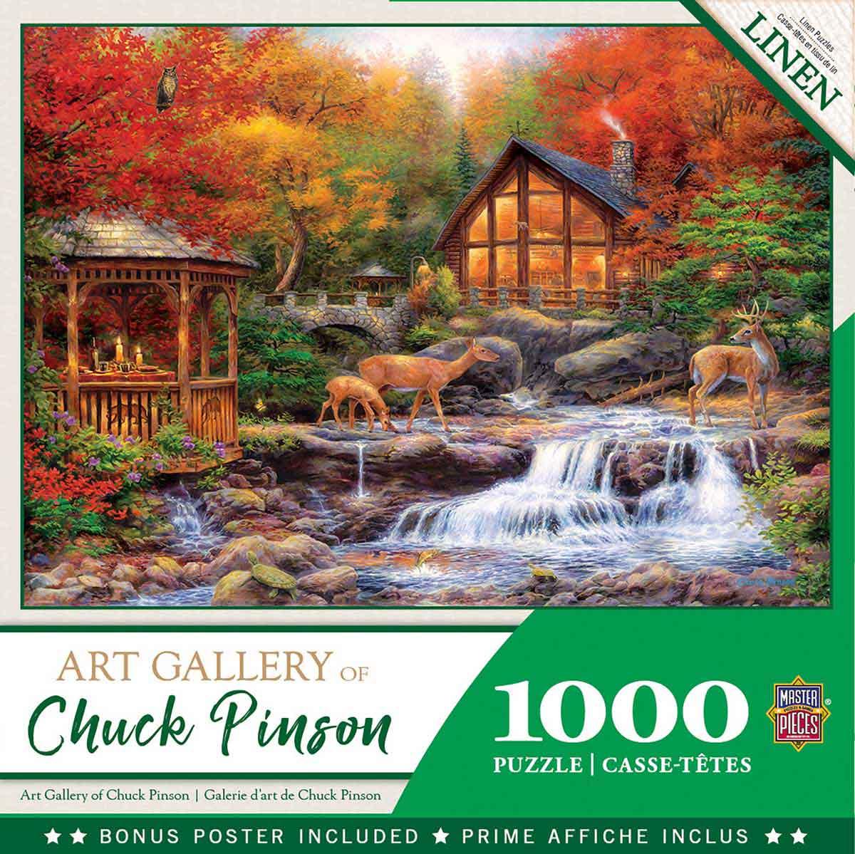 Puzzle MasterPieces Colores de Vida de 1000 Piezas
