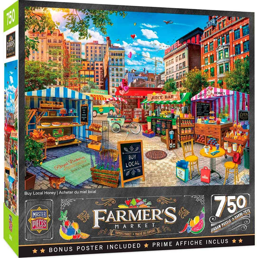Puzzle MasterPieces Mercadillo de Postres de 750 Piezas