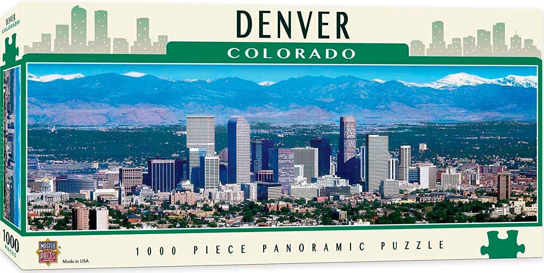 Puzzle MasterPieces Denver, Colorado de 1000 Piezas