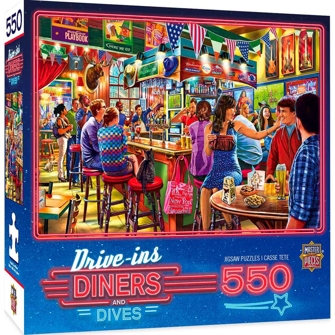 Puzzle MasterPieces Deportes y Cervezas de Duffy de 550 Piezas
