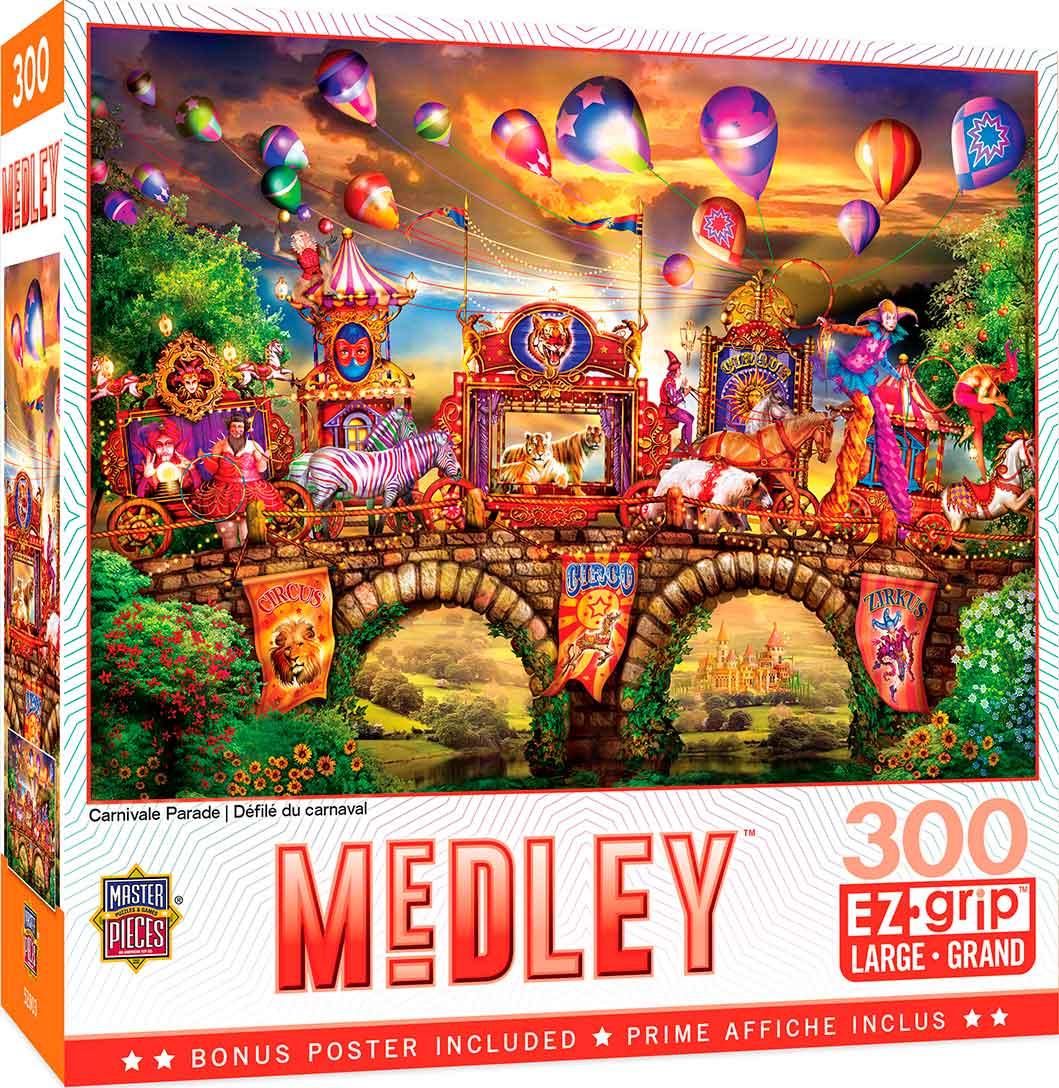 Puzzle MasterPieces Desfile de Carnaval XXL de 300 Piezas