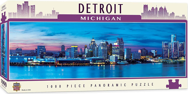 Puzzle MasterPieces Detroit, Michigan de 1000 Piezas