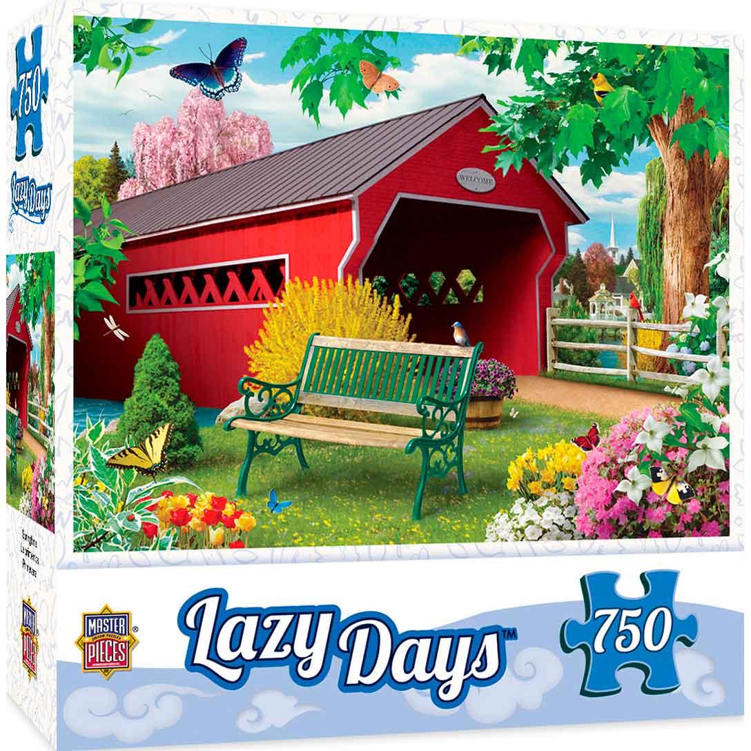 Puzzle MasterPieces Días Tranquilos de Primavera de 750 Piezas