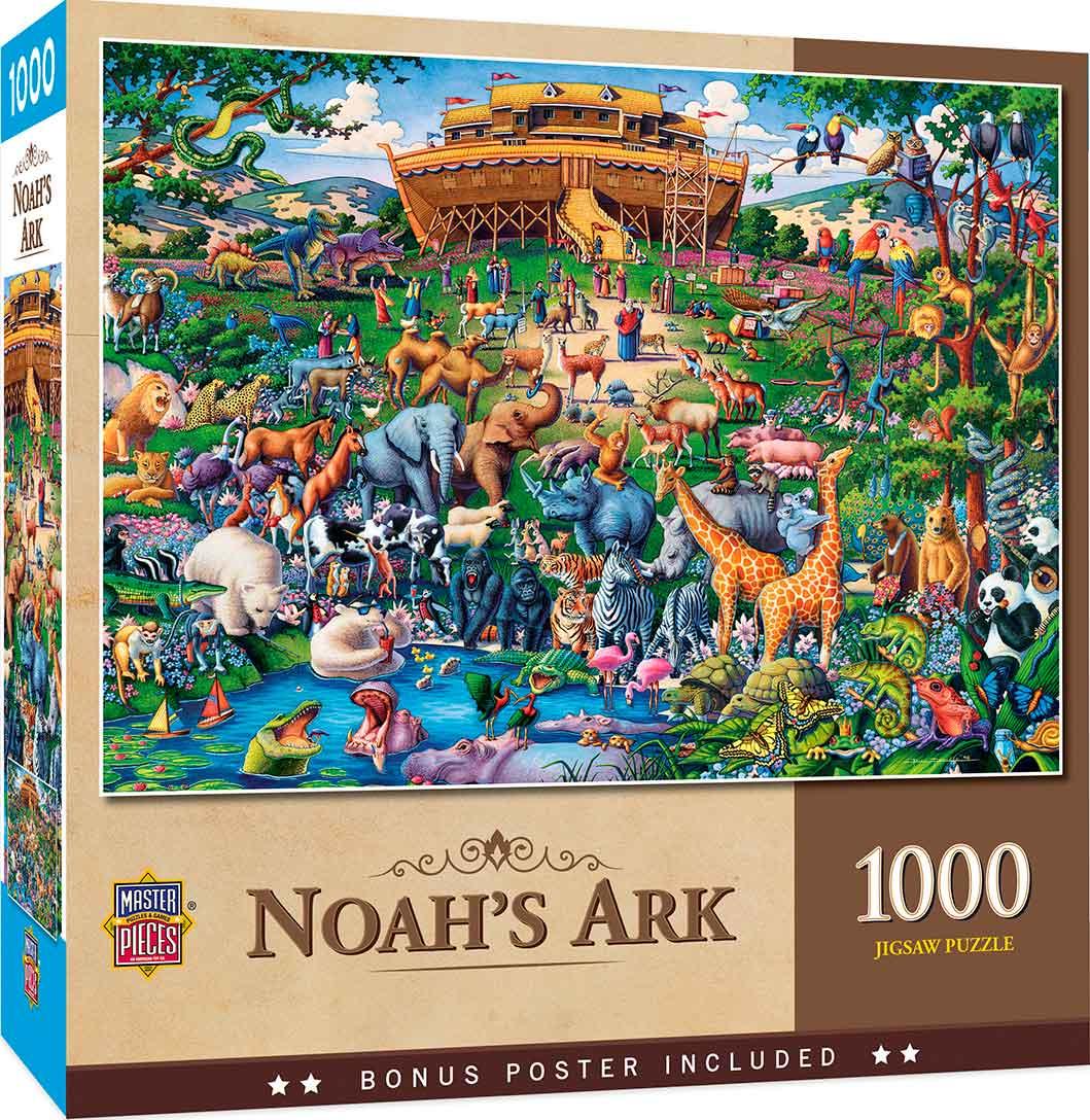 Puzzle MasterPieces El Arca de Noé de 1000 Piezas