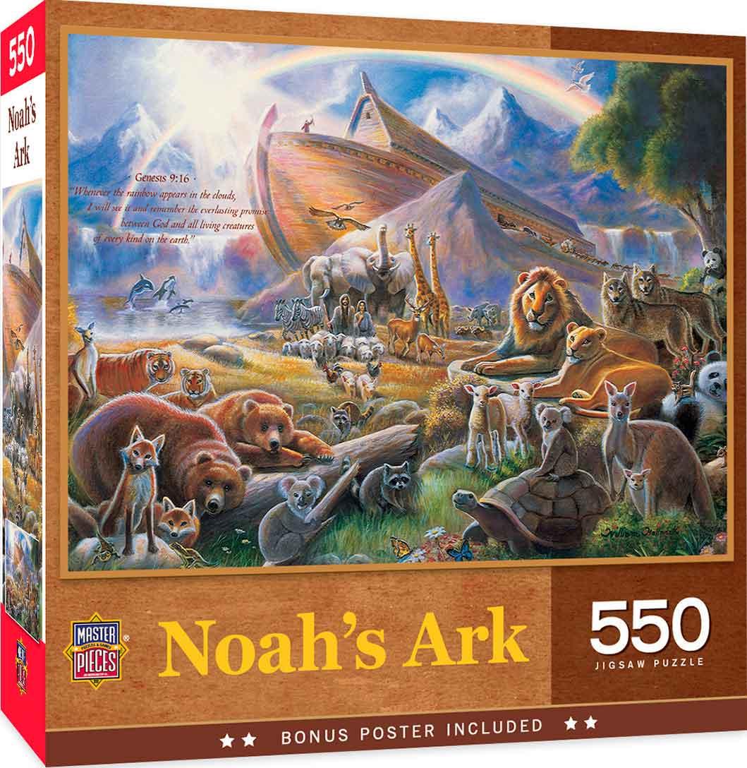 Puzzle MasterPieces El Arca de Noé de 550 Piezas