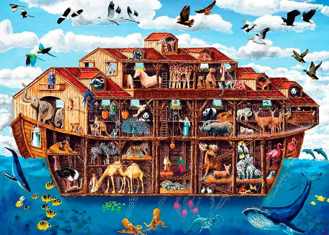 Puzzle MasterPieces El Arca de Noé XXL de 1000 Piezas