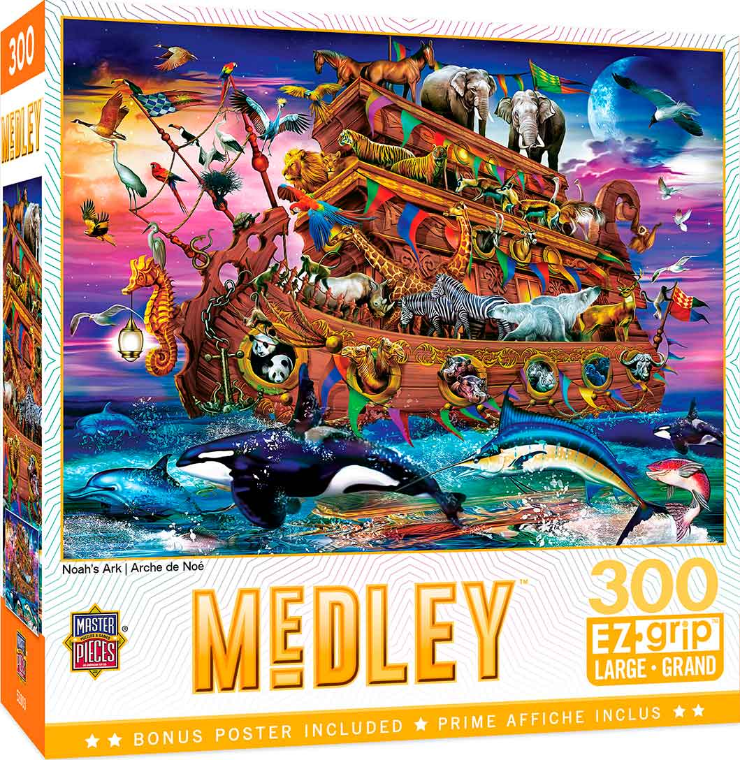 Puzzle MasterPieces El Arca de Noé XXL de 300 Piezas