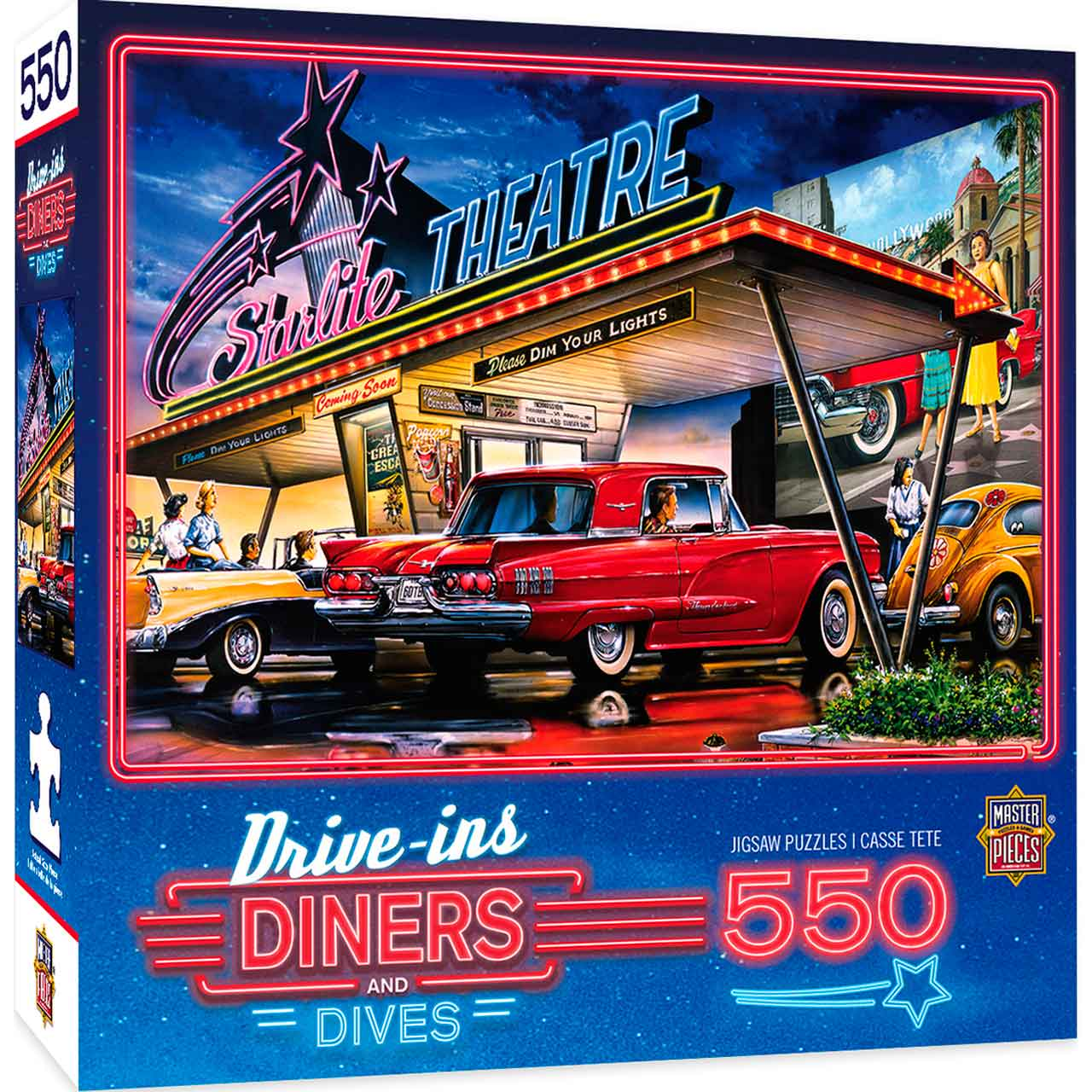 Puzzle MasterPieces El Autorrestaurante Starlite de 550 Piezas