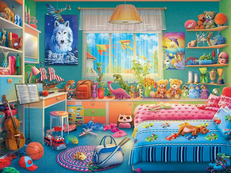 Puzzle MasterPieces El Escondite de Annie de 550 Piezas