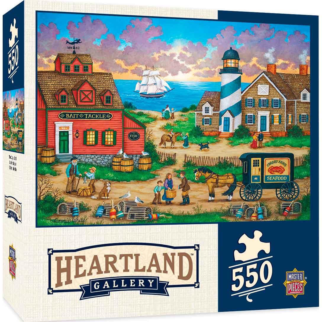 Puzzle MasterPieces El Fin de los Días de 550 Piezas