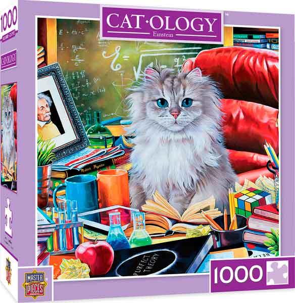Puzzle MasterPieces El Gato de Einstein de 1000 Piezas