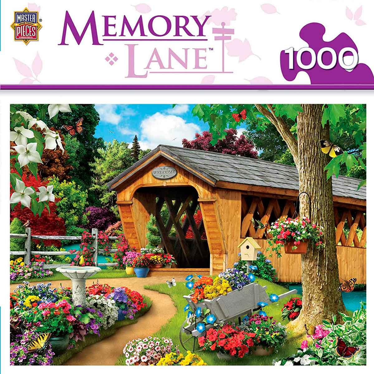 Puzzle MasterPieces El Puente del Jardín de 1000 Piezas
