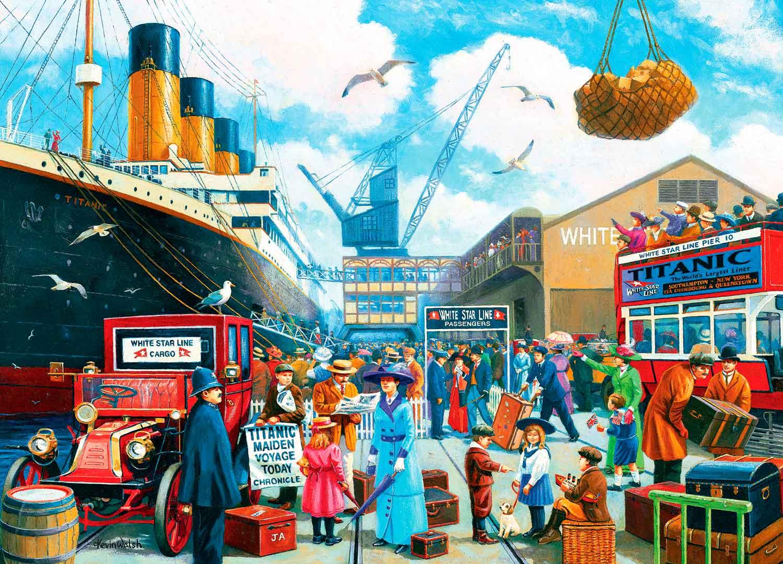 Puzzle MasterPieces El Titanic de 1000 Piezas