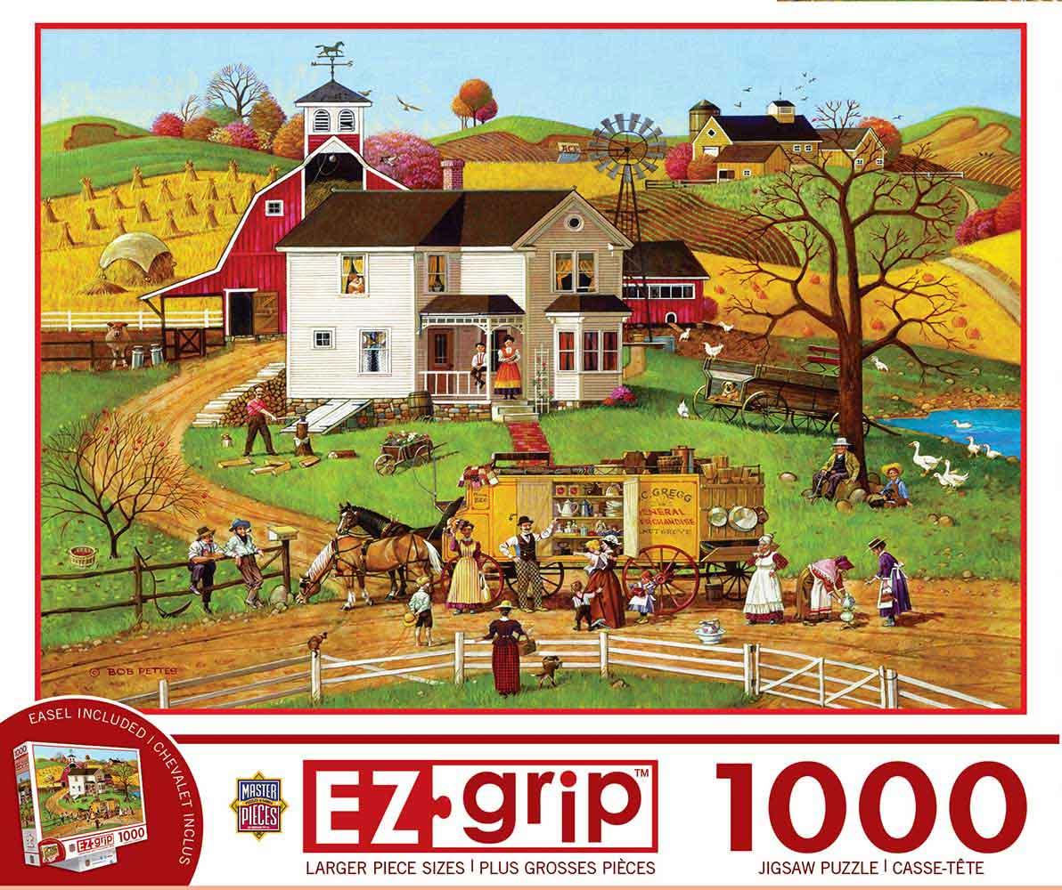 Puzzle MasterPieces El Viajante XXL de 1000 Piezas