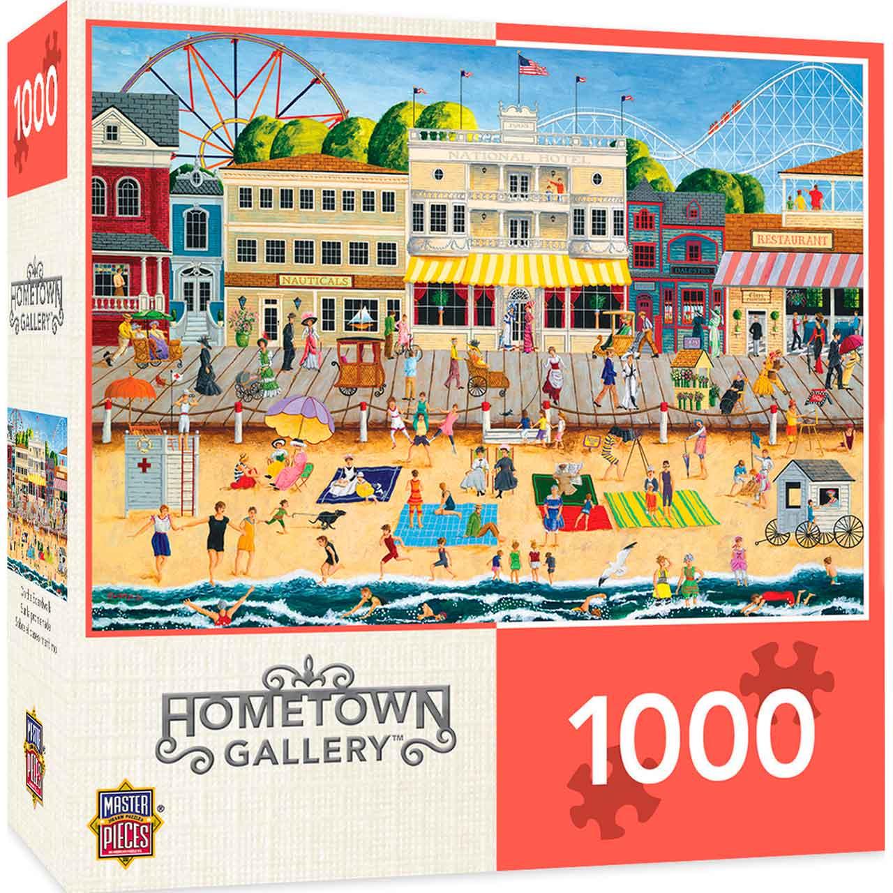 Puzzle MasterPieces En el Muelle de 1000 Piezas