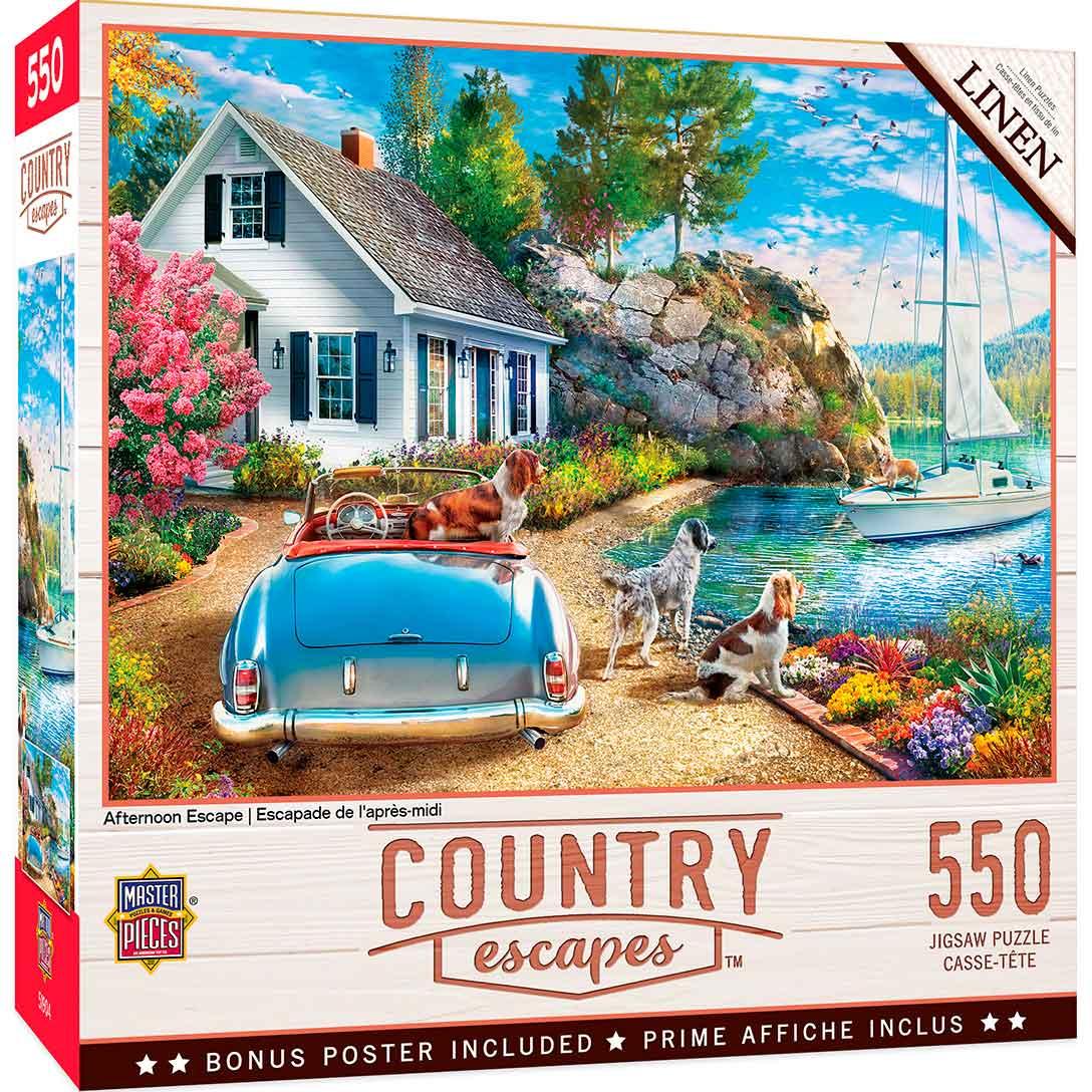 Puzzle MasterPieces Escapada de Tarde de 550 Piezas