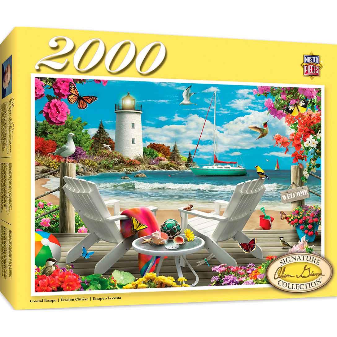 Puzzle MasterPieces Escape Costero de 2000 Piezas