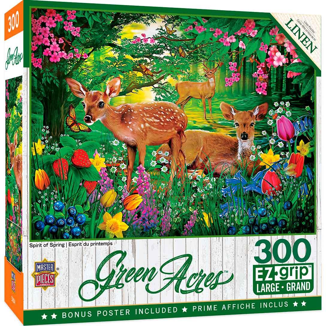 Puzzle MasterPieces Espíritu de Primavera XXL de 300 Piezas