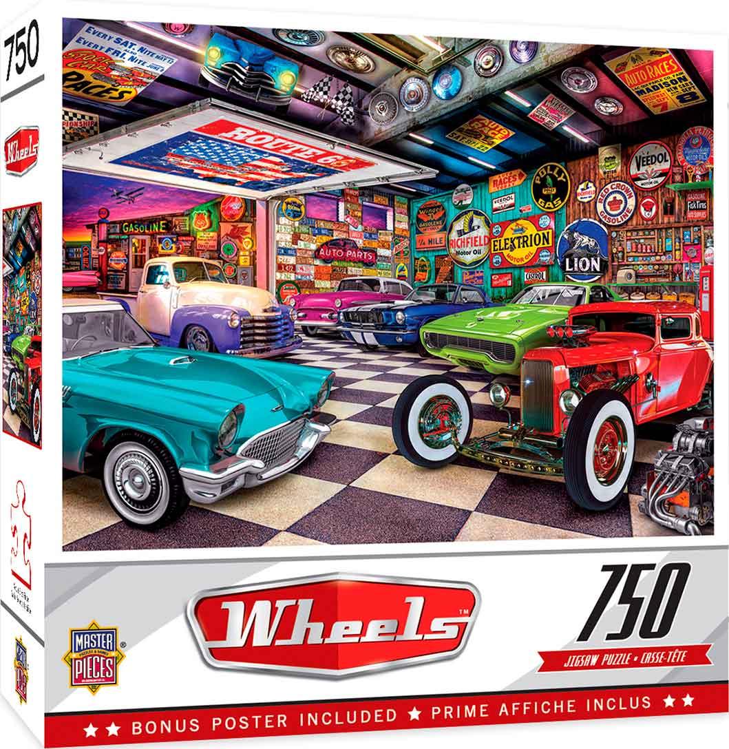 Puzzle MasterPieces Garaje de Coleccionista de 750 Piezas